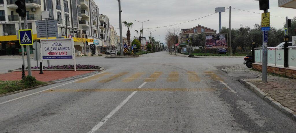 Karantinalı Günlerde Sokaklar Boş Kaldı